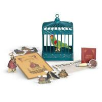 New American Girl Cecile's Parrot & Games~Marie Grace~Bird Cage~Retired Historic
