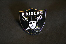 OAKLAND RAIDERS SMALL LOGO PIN TOP QUALITY LICENSED - BIN FREE SHIPPING USA ONLY