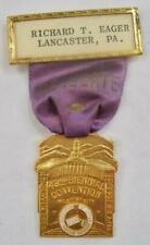National Association Letter Carriers 43rd Biennial Convention Medal Ribbon (O)