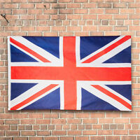 Large 3 x 5 FT Union Jack UK Great Britain British Flag Team United Kingdom New