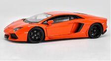 Welly 1:24 Lamborghini Aventador LP700-4 Diecast Model Racing Car Toy Orange NIB