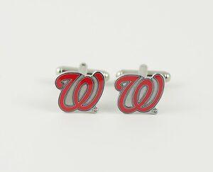 Washington Nationals Cufflinks MLB Baseball