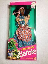Jamaican Barbie Traditional Costume Dolls of the World Collection Jamaica RARE