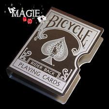 Etui de cartes métallique - Bicycle - Magie - Poker