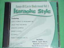 Carrie Underwood~#1 ~ Daywind ~ Karaoke Style ~~ Jesus Take the Wheel ~~ CD+G