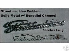 """Streetmachine"" Script EMBLEM Beautiful CHROME METAL."