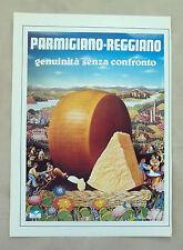 E951 - Advertising Pubblicità - 1985 - PARMIGGIANO REGGIANO FORMAGGIO