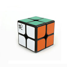 New Black Dayan Zhanchi 46MM 2x2x2 Magic Cube 2x2 Puzzle Spring Speed Rare Cube