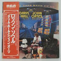 Hall & Oates - Bigger Than Both Of Us LP 1976 JAPAN PRESS VINYL RCA SOUL w/ obi