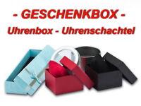 Uhrenbox Geschenkbox Armbanduhr Kartonbox Metallbox Uhr-Uhren Aufbewahrung Box