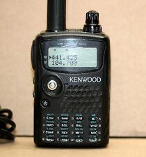 Kenwood TH-F6A TH-F6 Tri Band Bander HT Transceiver Ham Police FM Working READ