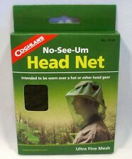 Coghlan's NO SEE-UM Head Net Insect Protection Mosquito Bee Hunting Fishing New