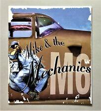Mike & The Mechanics M6 tour programme from 1999 - genuine vintage tour merch!