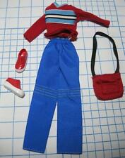 Mary Kate & Ashley Olsen Twins Doll Clothes red clothes shirt/pants Shoes set