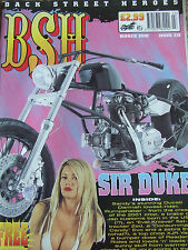 BSH BACK STREET HEROES MAGAZINE MAR 2002 SIR DUKE DUCATI DARMAH LOWEST RIDER