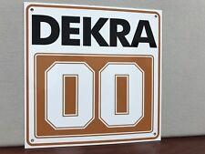 BMW M3 E30 Racing Jegermeister DEKRA Metal Sign Hi Gloss!