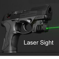 USB Rechargeable Mini Red Green Laser Tactical Gear For Fullsize Compact Pistol