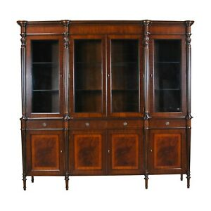 NDRC027, Niagara Furniture,  Regency Breakfront China Cabinet