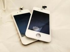 iPhone 4 GSM White Digitizer & LCD Replacement - Lot of 2