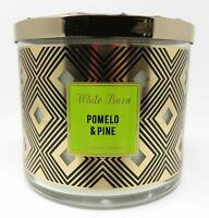 BATH BODY WORKS/WHITE BARN POMELO & PINE SCENTED CANDLE 3 WICK 14.5OZ LARGE-NEW