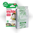Fujifilm Instax Mini White Film 10 Photos - Fuji 8 8+ 9 50s Instant Camera SP-1