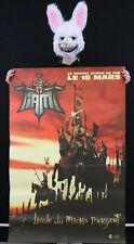 IAM - L'ECOLE DU MICRO D'ARGENT - Affiche originale album 1997 - Poster 118 x 78