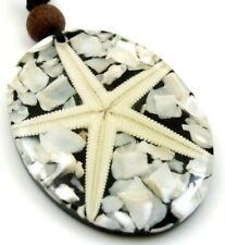 STUNNING STAR FISH & MOTHER OF PEARL necklace ; DA222