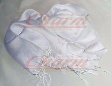 Seide Uni Maxi Wrap Weihnachten Hijab Schal Stola Sarong Stola Hochzeit Brautjungfer