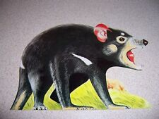 TAZMANIAN DEVIL - AUSTRAILIA FIGURAL ANIMAL POSTCARD