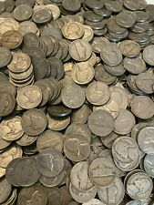 (20) Jefferson Nickels Half Roll 1938-1964 Us Coins Silver War Nickels Included