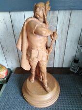 Ancienne statue gaulois en terre cuite signée dupuy