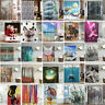 Various Shower Curtain Waterproof Polyester Fabric Bathroom Bath Decor With
