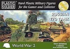 WW2V15019 RUSSIAN T70 TANK - PLASTIC SOLDIER COMPANY - 15MM - WW2