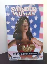 "BNIB! DC DIRECT WONDER WOMAN DELUXE COLLECTOR FIGURE 13"" 1:6 Scale Figure"