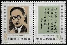 China postfris 1985 MNH 2042-2043 - Zou Taofen