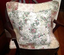 Shabby Chic Cushion Pillow Sham Cover Taupe White Green Pink SPECIAL PRICE