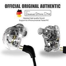 QKZ VK1 ZS10 Headphone Running Sport Earphone 4 Drive Unit Headset ZS6!!!!