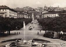 Bergamo-Viale Roma-Panorama Citta' Alta-f.g.