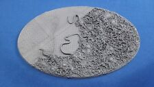 Warhammer 40k Elrik's Hobbies Terrain Corrupted Outpost Oval 170x105mm base