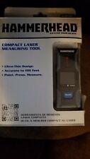 Hammerhead Compact Laser Measuring Tool Hlmt100 100ft Laser Distance Measure
