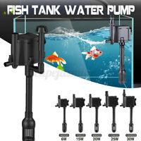 3in1 Aquarium Internal Filter Oxygen Submersible Water Pump For Fish Tank