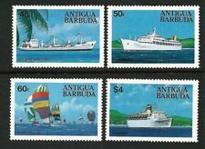 Antigua & Barbuda 1984 - Ships - Complete Set of 4 MUH