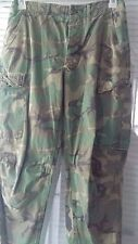 Military Army Uniform Camouflage Cargo Size Small BDU Pants USMC Button Fly