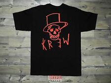 KREW DENIM - SKULL T-SHIRT NEU GR:M BLACK KREW CLOTHING