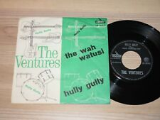 "THE VENTURES 7"" SINGLE - HULLY GULLY / ITALY LIBERTY in MINT"