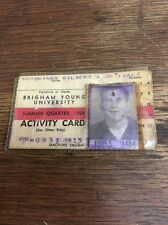 1954 Brigham Young  University Is Card