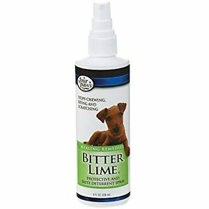 Four Paws Healthy Promise Bitter Lime Anti Chew Spray for Dogs and Cats Bitter