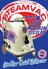 SteamVac Max220 sizzler carpet cleaning equipment carpet steam cleaning machines