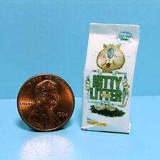 Dollhouse Miniature Detailed Replica Cat Litter Bag for Your Pet HR57035