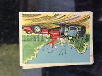 m17c4 trade card 1960s speed kings no 5